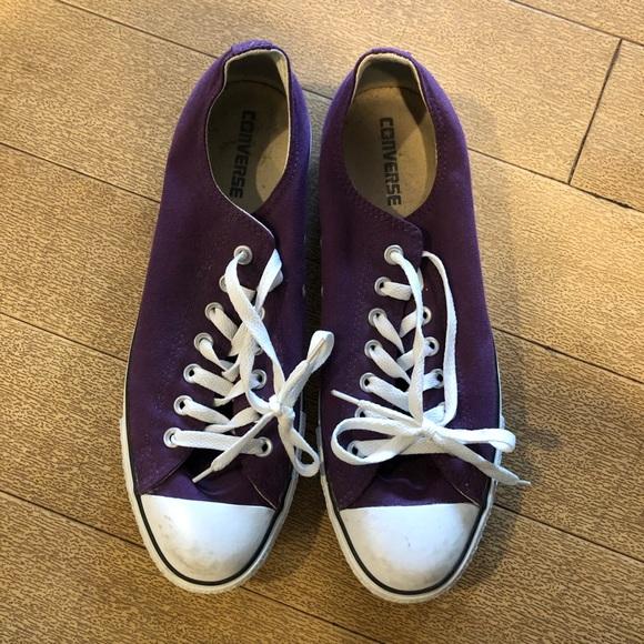 Purple Men's Converse